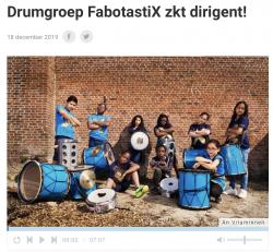 De FabotastiX zoeken een nieuwe dirigent